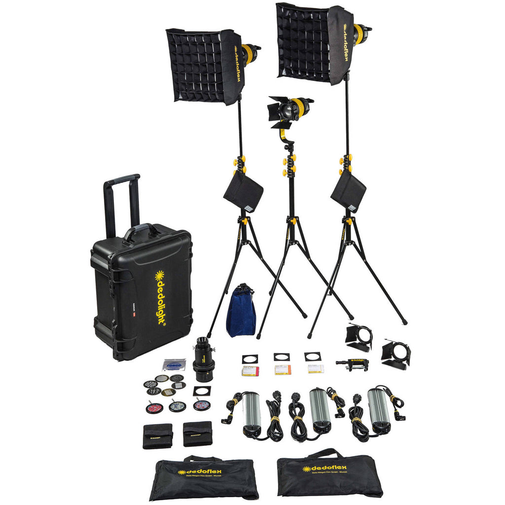 Dedolight - DLED7-BI - 3-Light Kit