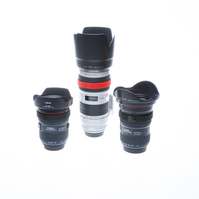 Canon - L-Series 3-Lens Package