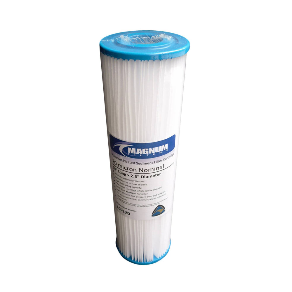 "Pleated 10"" Slim Sediment Removal Filter"