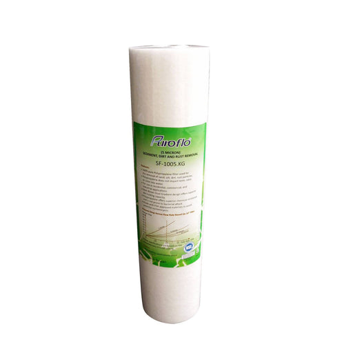 Polyspun Sediment Filter Slim 10""