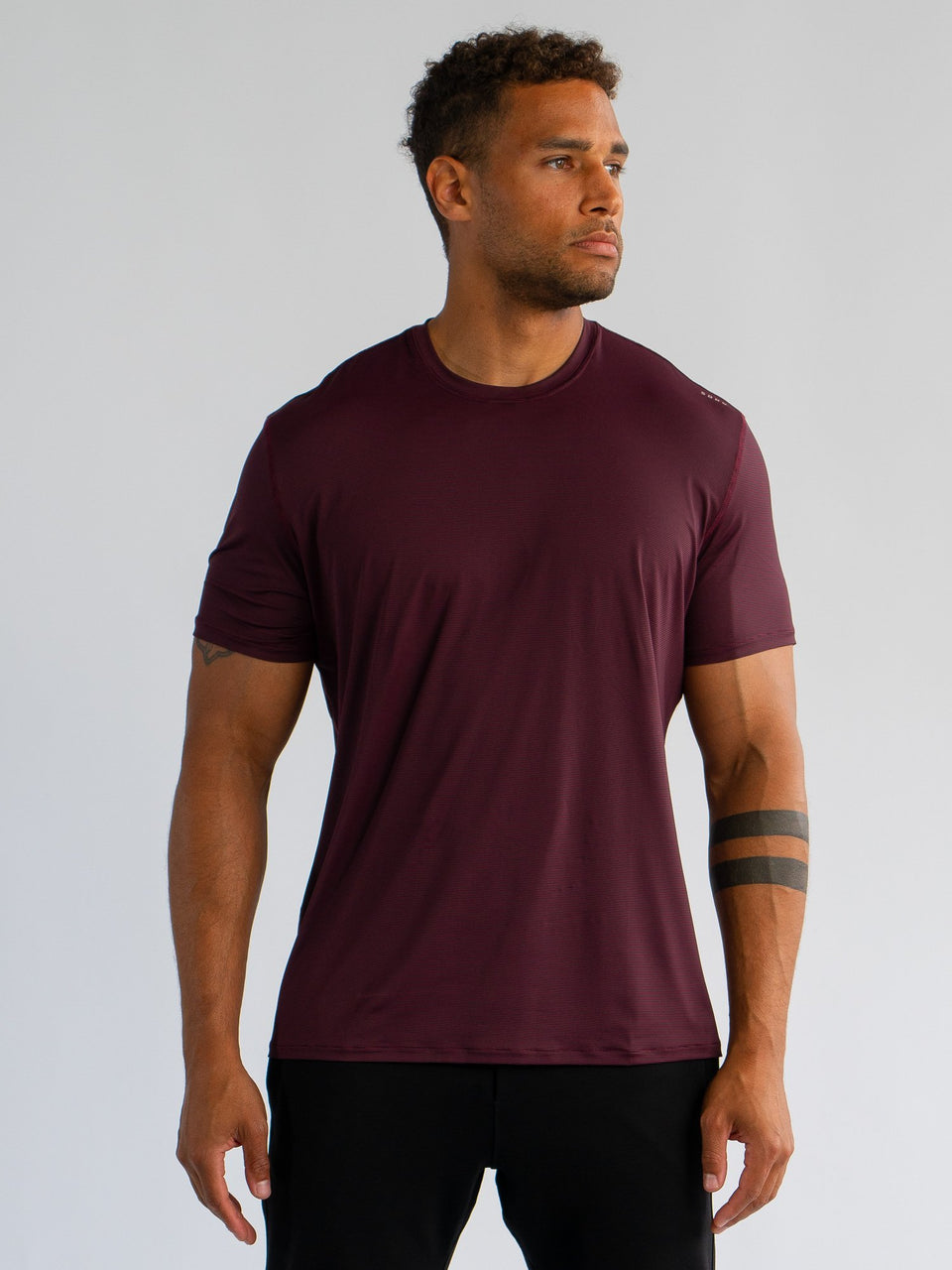 A4 Microstripe Short Sleeve - SODO Apparel - SHIRTS