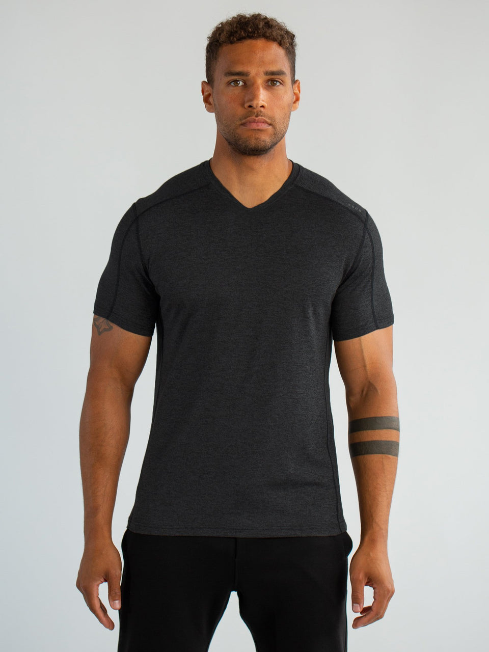 SS High V - Black - Medium - SODO Apparel - Limited Inventory