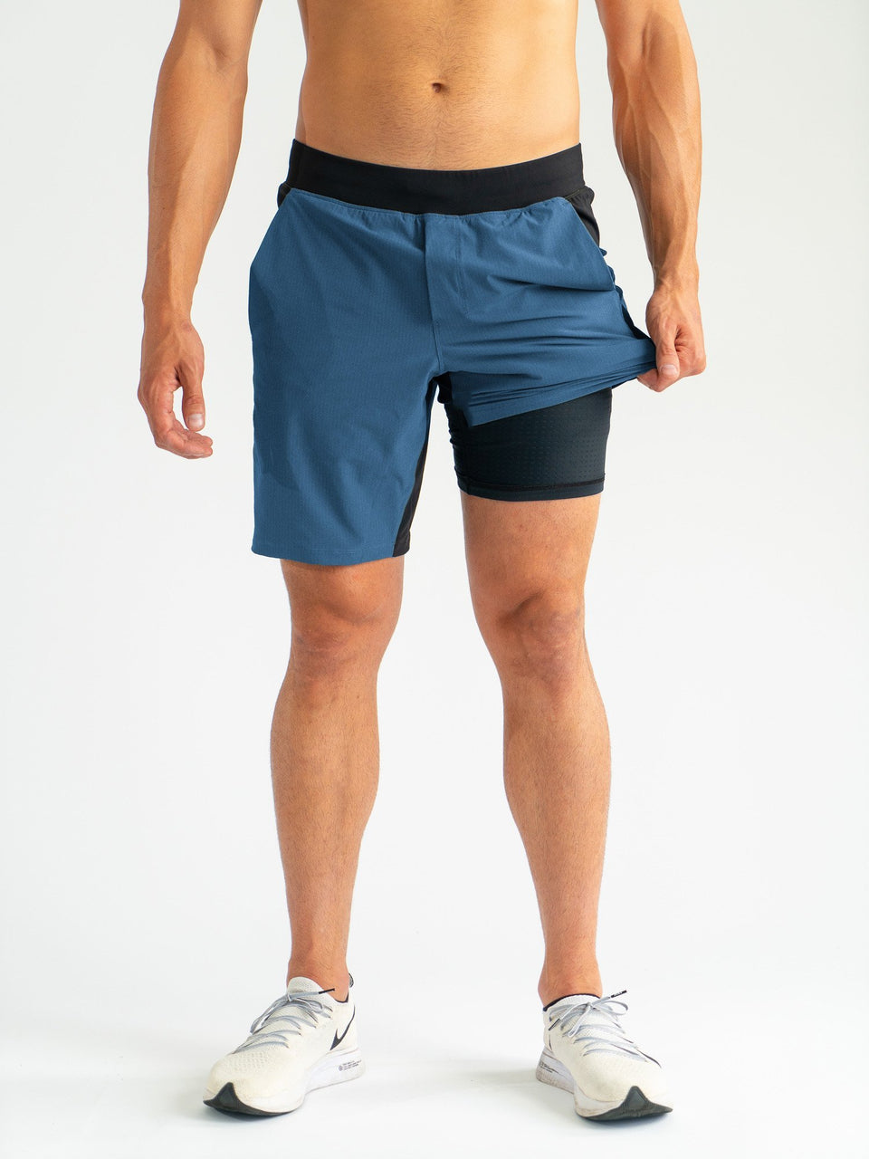 THE X SHORT - Indigo L - SODO Apparel - SHORTS