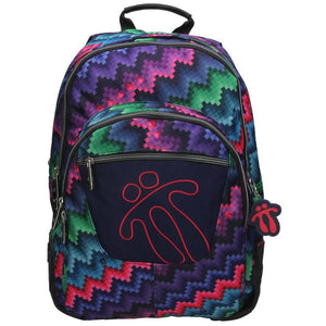 TOTTO SCHOOL BACKPACK – CRAYOLA PIXELS 4MS