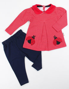 Girls LadyBird 2 Pc Set