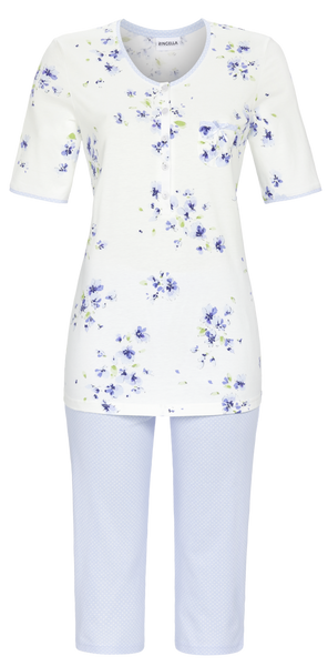 Ringella Pajamas with capri pants 1211243