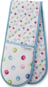Cooksmart Spotty Dotty Design Double Oven Gloves DG1312