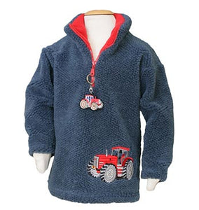 Boys Red Tractor fleece Style 1343 with tractor keyring