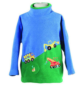 3'Hillside Trucks fleece with  sound effect Style1414