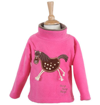 Crazy Horse  Fleece  Style 1480 with horse sound effect.