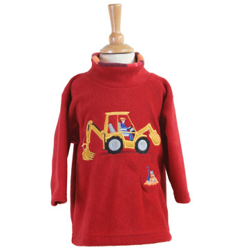 Digger Fleece Style 1485 with  sound effect