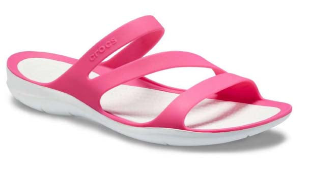 Womens Crocs  Sandal style Swiftwater 203998 Paradise Pink