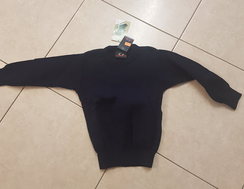 Round  Neck  Arcylic   School  Jumper