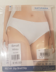ladies 3  pack  cotton briefs