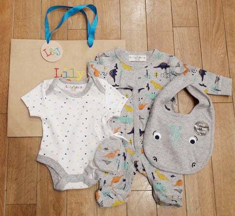 BABY  BOY  5 PIECE  SET