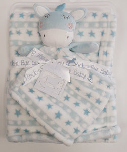 Rock-A-Bye-Baby Blanket and Comforter Set M14042
