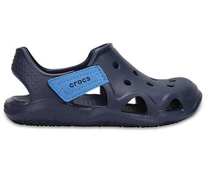Kids  Crocs Swiftwater Wave Navy
