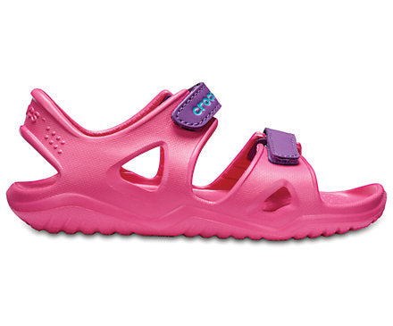 Kids Crocs Swiftwater™ River Sandal Paradise Pink/Amethyst