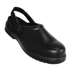 A813 Lites Unisex Safety Clogs Black
