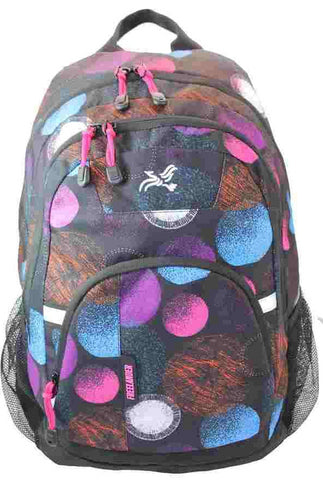 Girls  Student Multi Compartment Back Pack 31F866 by Freelander