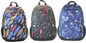 BOYS  Student MULTI COMPARTMENT BACKPACK 31F867 by  Freelander