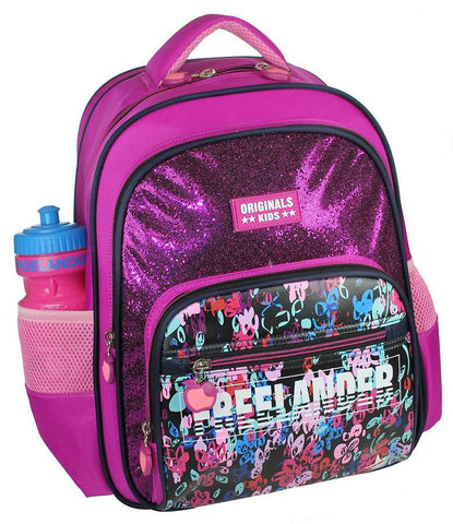 Girls  Triple Pocket Back Pack by Freelander