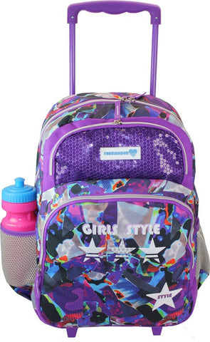 Girls Trolley Back Pack Style by Freelander