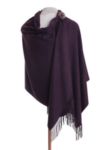 Zelly  Ladies Pashmina & Pin
