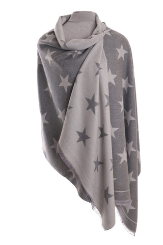 Zelly Luxury Wrap Star - White