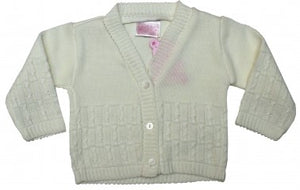 JUST TOO CUTE KNITTED BABY CARDIGAN 06JTC682