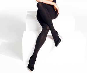 60 Den Ladies Black Opaque Tights