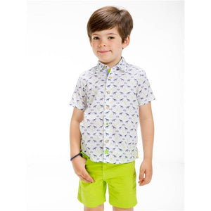 UBS2 BOYS SHORT SLEEVE SHIRT E200429
