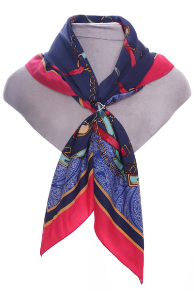 Zelly Ladies Oversized Faux Silk Neck Tie 544209