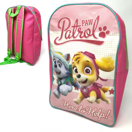 paw patrol school bag