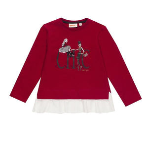 UBS2 Girl's sweater with print H209272