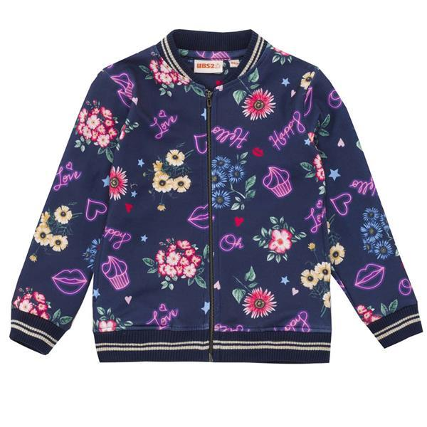 UBS2 GIRLS PRINTED JACKET