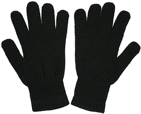 magic  black  gloves