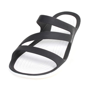 Womens Crocs  Sandal style Swiftwater 203998  Black