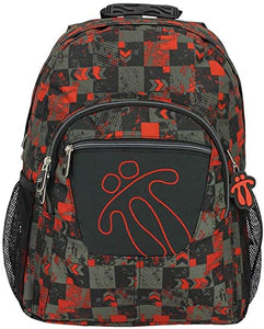 TOTTO SCHOOL BACKPACK – CRAYOLA GREY/RED 5GU