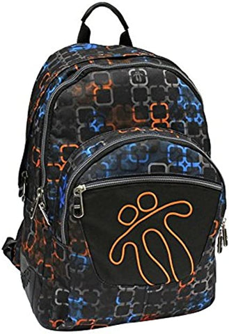 TOTTO SCHOOL BACKPACK – CRAYOLA -BLACK/ORANGE 7NW