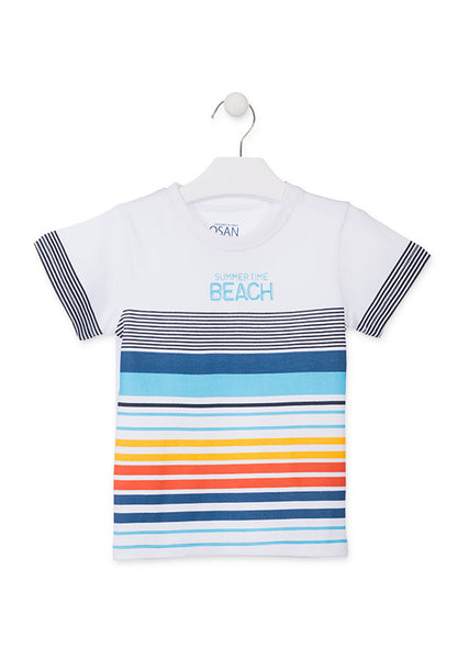 Losan Boys White t-shirt ss19