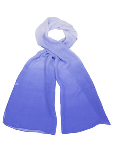 CHIFFON OMBRE PRINT SCARF style 91993