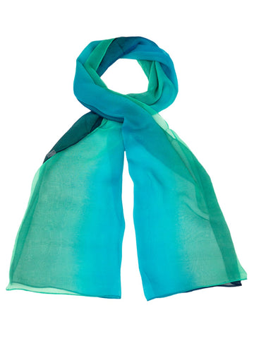 CHIFFON OMBRE PRINT SCARF STYLE 91994