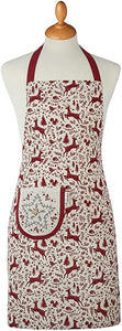 Cooksmart Winter Wonderland Christmas Cotton Apron 1566