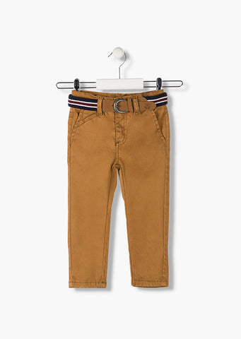 boys camel  coloured trousers