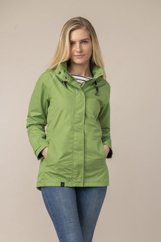 Ladies Meadow Green Beachcomber Jacket