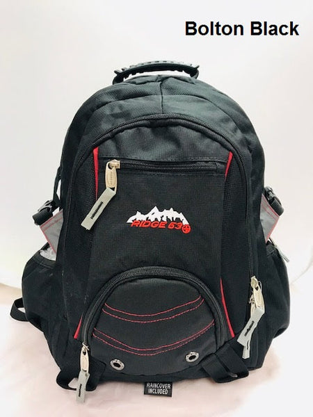Ridge 53 Backpack  style  Bolton black red