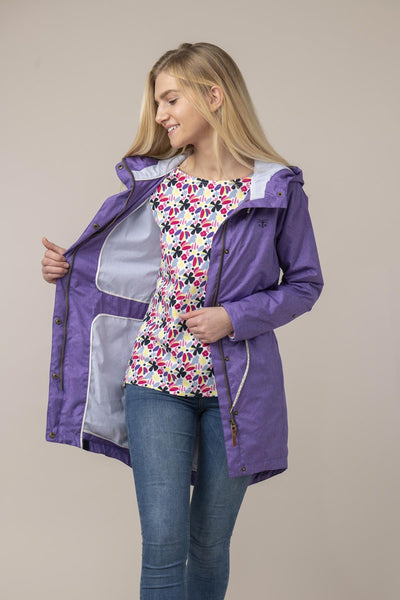 Ladies Emily Violet Jacket