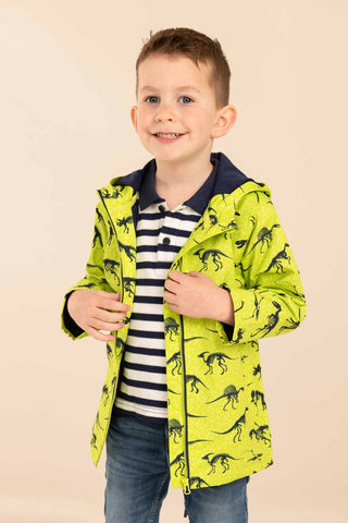 dinosaur boys jacket