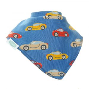 Bandana dribble bibs Sports Cars  by Ziggle